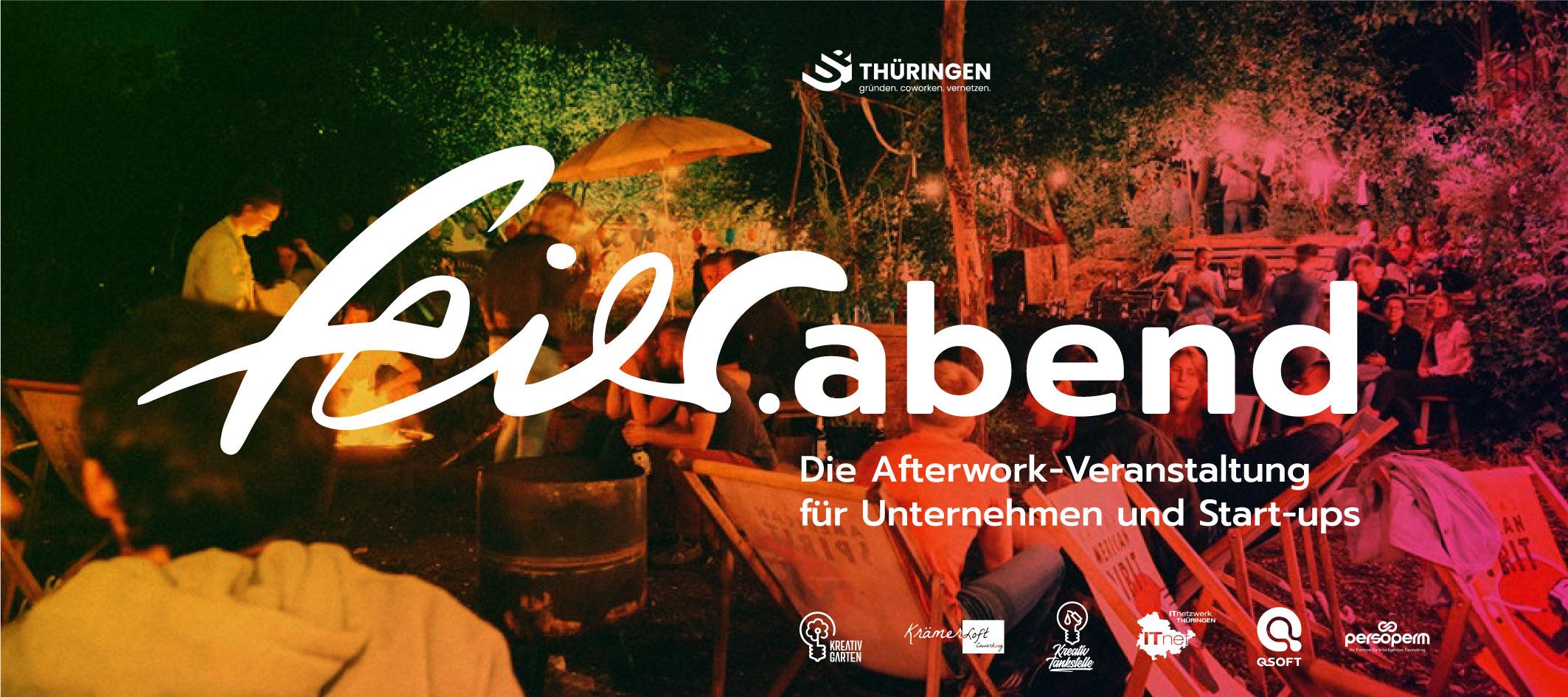 feier.abend Afterwork im Kreativgarten auf der BUGA Erfurt